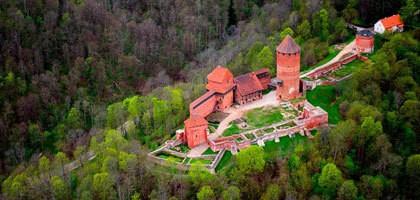 Latvijos dvarų ir pilių pavilioti - pažintinė kelionė į Latviją 3