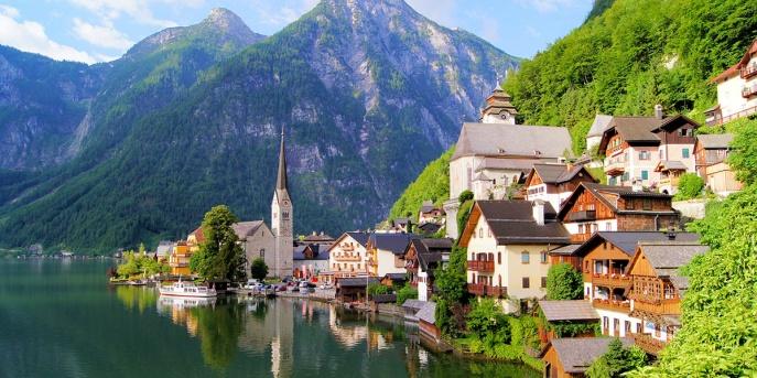 Pažintinė kelionė į Austriją. Austrijos Alpės 1