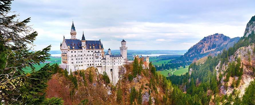 Pažintinė kelionė į Vokietiją. Bavarija: stebuklai Alpių fone