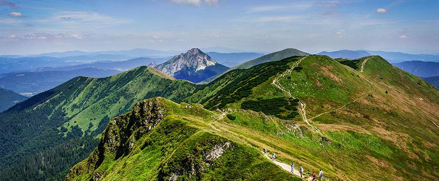 Pažintinė kelionė į Slovakiją. Slovakijos kerai: Tatrai