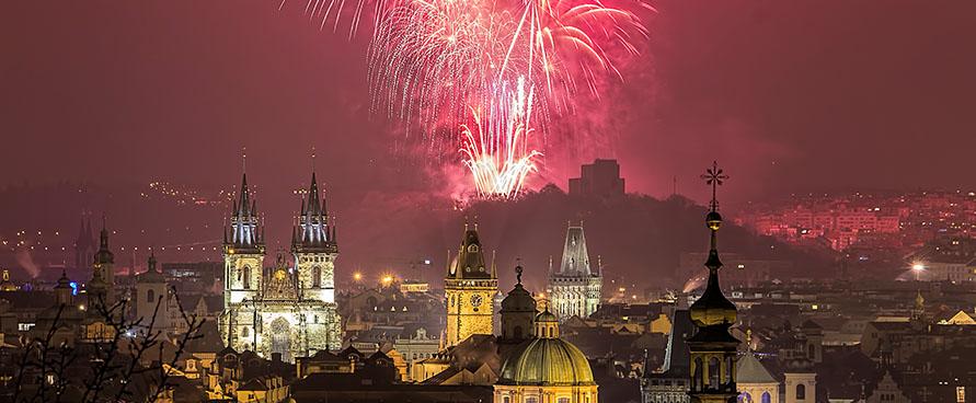 Pažintinė kelionė į Čekiją. Prahos šviesų festivalis
